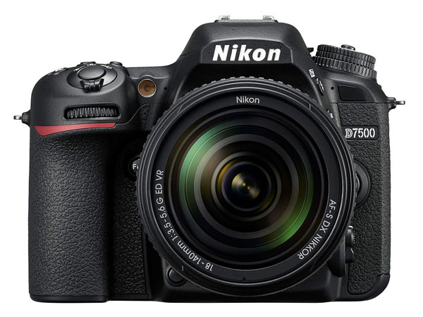 Nikon D7500 camera front