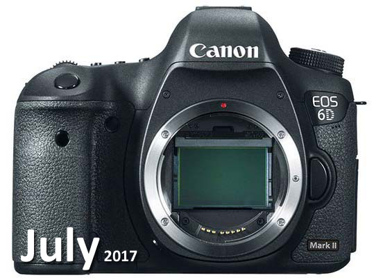 Canon 6D Mark II camera image