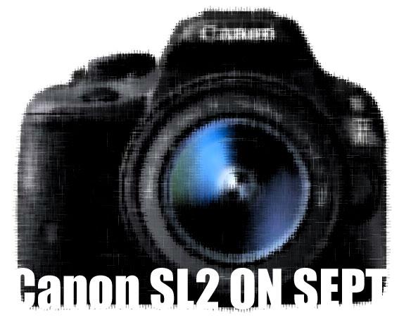 Canon SL2 camera image