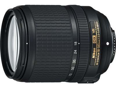 18-140mm lens image