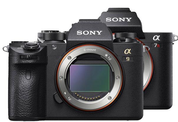 Sony A9 vs Sony A7R II