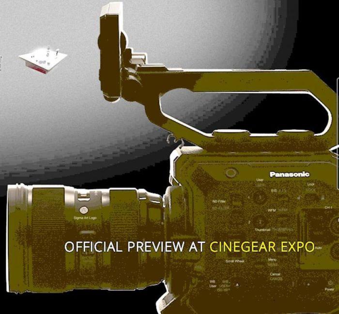 cinema lens image