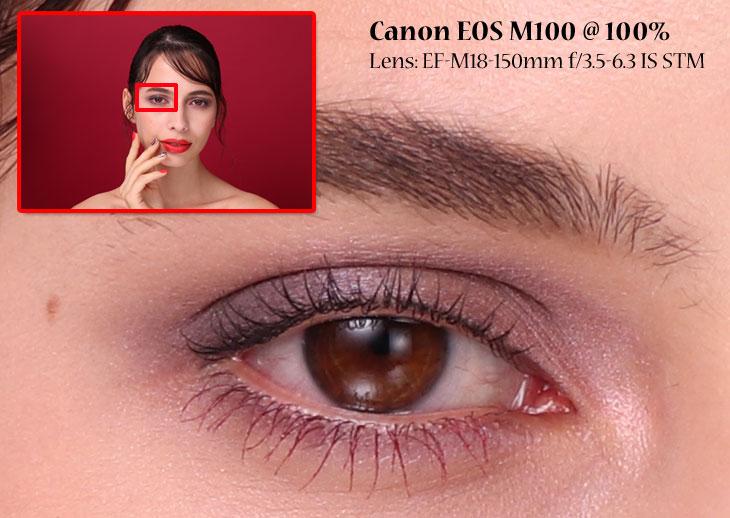 Cano EOSM 100 Sample