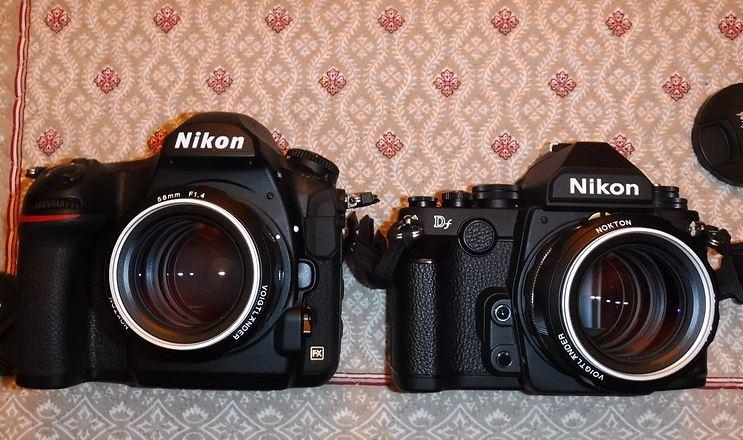 Nikon D850 camera comparsion