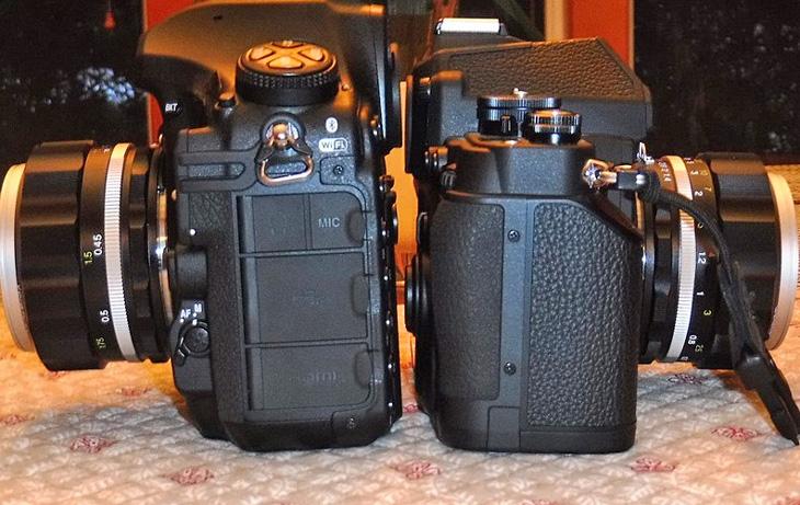Nikon D850 vs Nikon D800 image