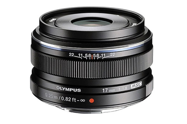 Olympus 17mm F1.2 lens coming