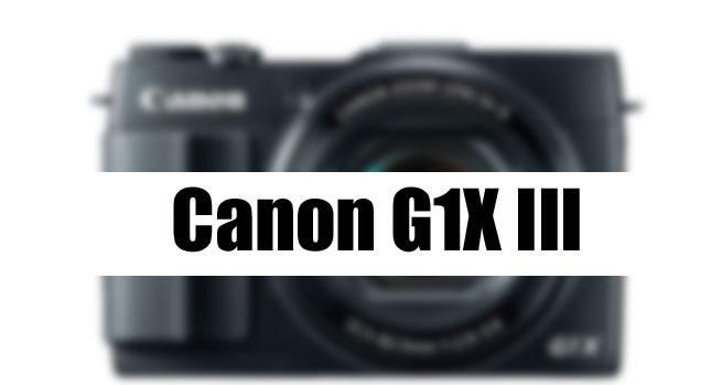 Canon G1X Mark III image
