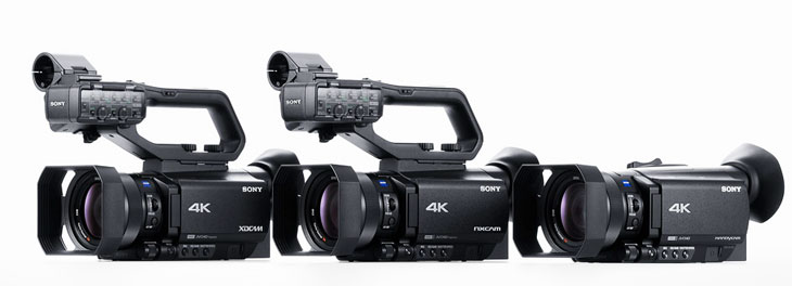 Sony upcoming camcorders image