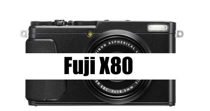 Fuji X80 image
