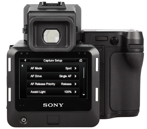 Sony medium format camera image