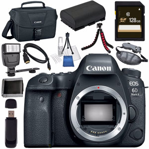Canon 6D Mark II bundle deal image
