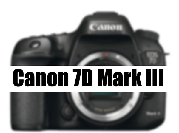 Canon 7D Mark III camera