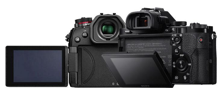 Panasonic G9 vs Sony A7 comparison image