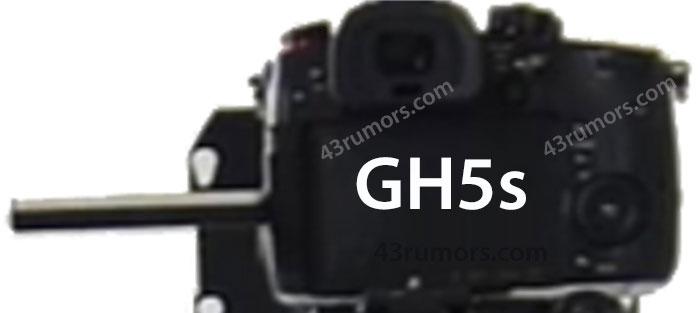 Panasonic GH5s image leak