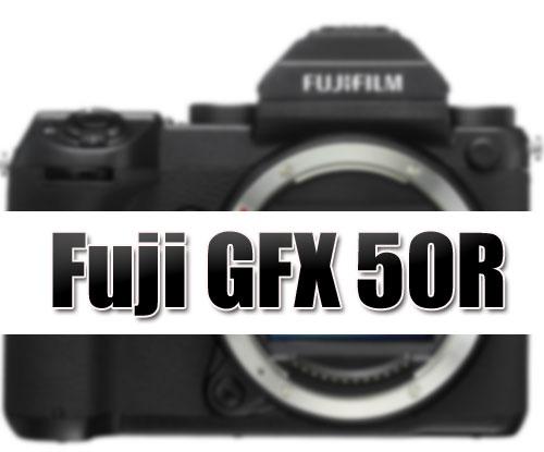 Fuji GFX50R Camera