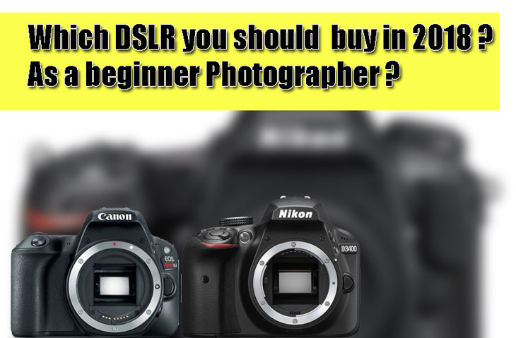 Which DSLR you should buy