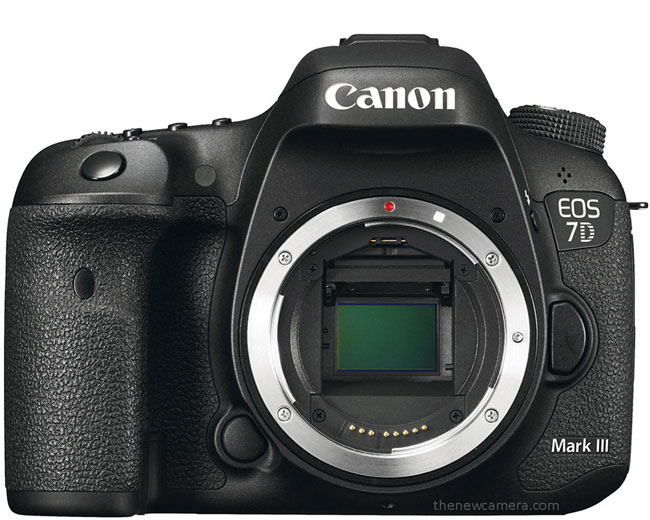 Canon 7D Mark III camera image