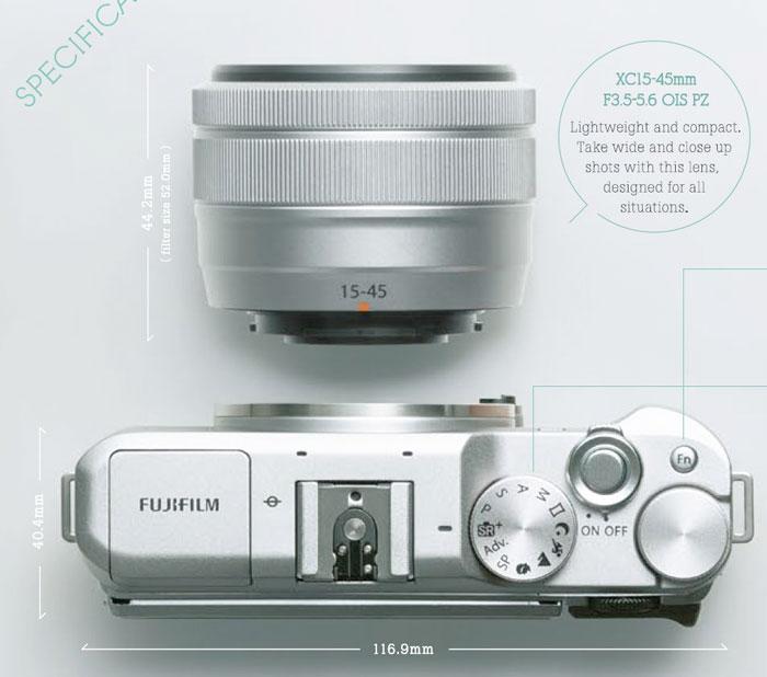Fuji X-A5 image