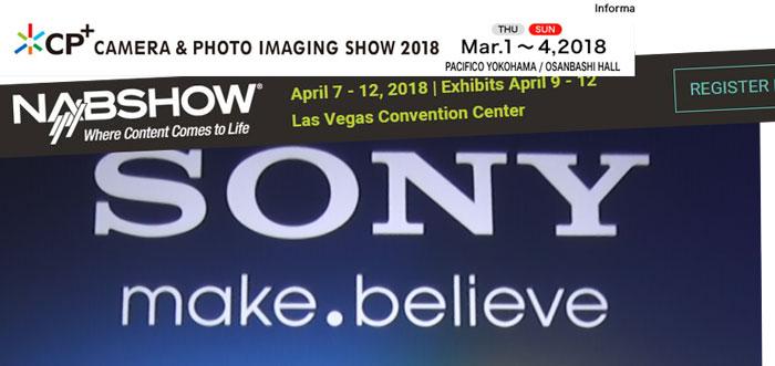 Sony CP plu show image