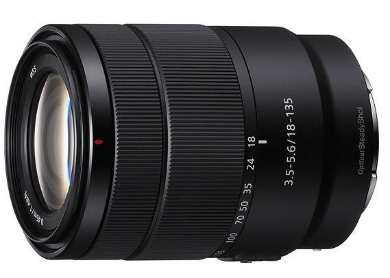 Sony 18-135mm lens