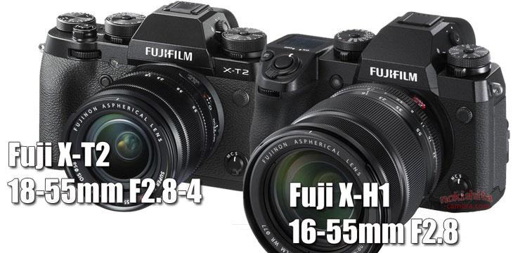 Fuji X-H1 vs Fuji X-T2