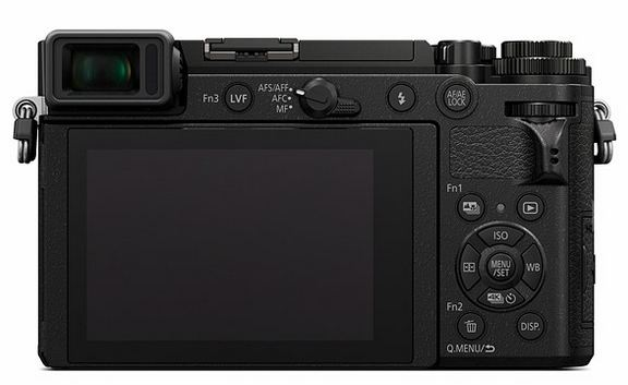 Panasonic GX9 back image