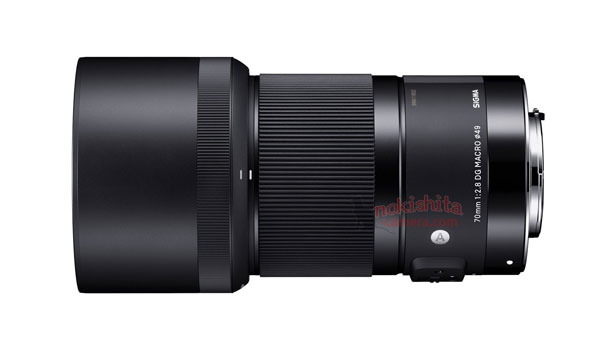 Sigma 70 mm art lens image