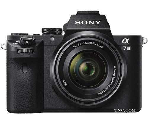 Sony A7 III camera image