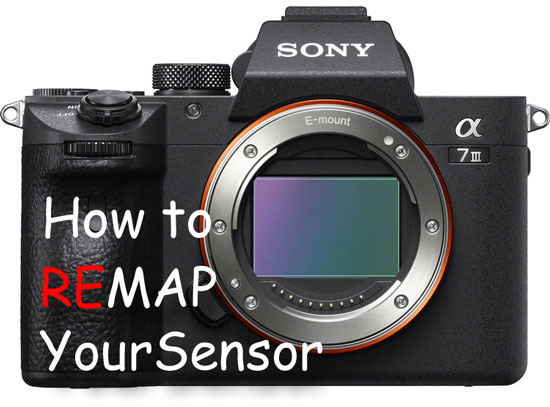 how to remap your sensor