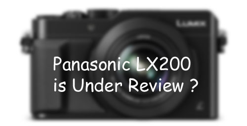panasonic LX200