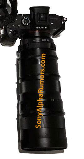 25-100mm lens