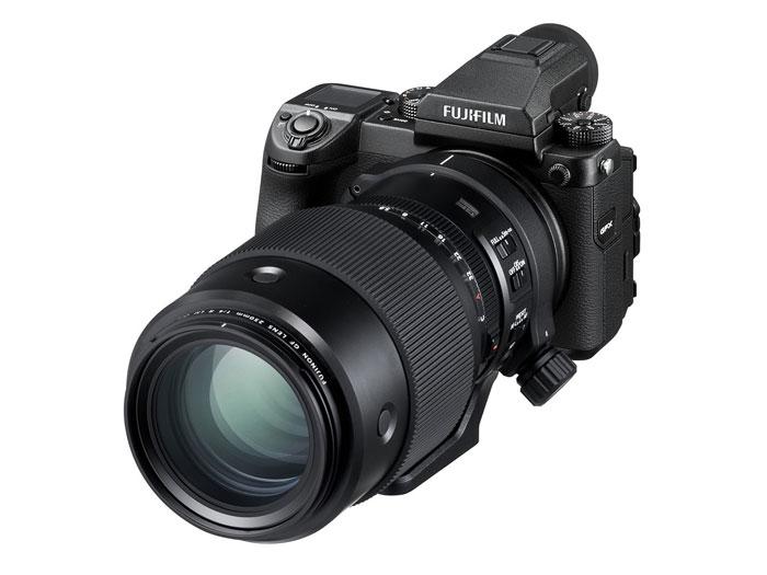 Fuji lens GF50S camera image