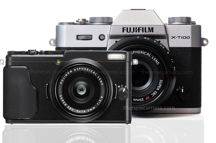 Fuji X-80 and X-T100