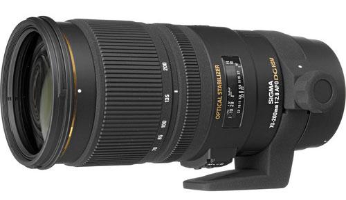 Sigma 70-200mm lens image