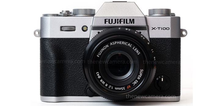 Fuji X-T100 camera image