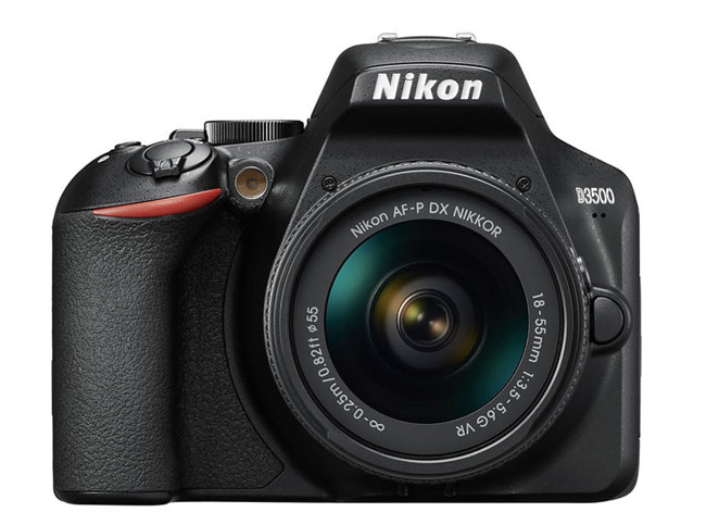 Nikon D3500 front image