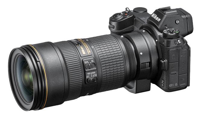 Nikon Z6 DSLR Lens