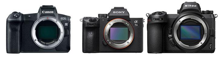 Canon EOS R vs Sony A7III vs Nikon Z6
