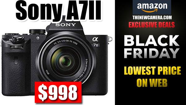 Suradam llevar a cabo Ruina  Sony A7II Black Friday Deal 2018 « NEW CAMERA