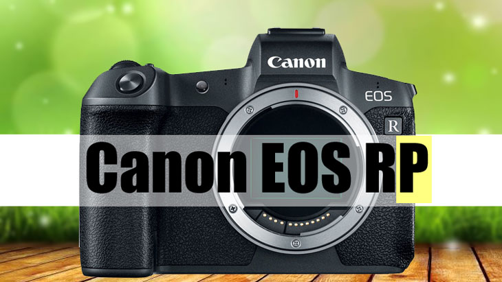 Canon Eos Rp Camera On The Way Battery Eg E1 Battery Grip